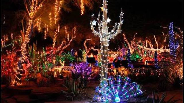 Las Vegas holiday events and light shows for 2014