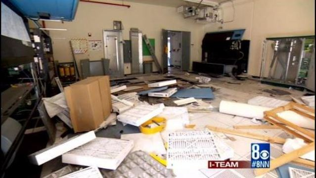I-Team: Vandals, looters trash government facility in Searchlight