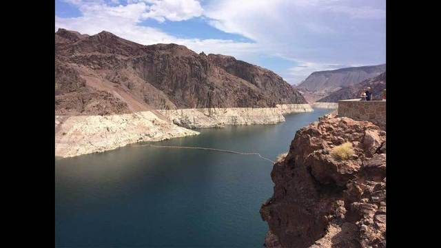 Lake Mead hits near-record low water level