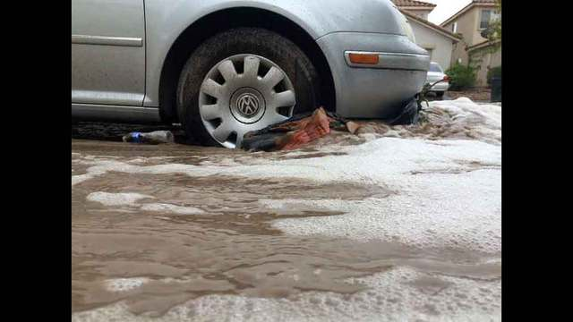 Flooding causes problems for NW valley streets again