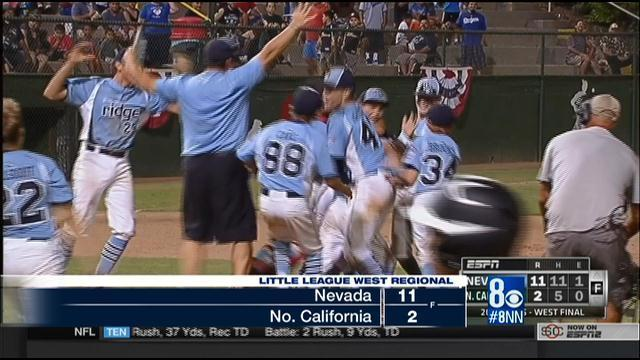 Nevada Little League team heads to World Series
