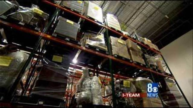 The I-Team gets a look at lavish items from CCSD program
