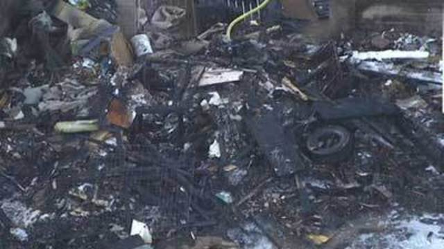 Neighbors blame house fire on hoarding