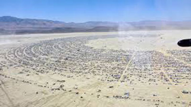 Woman dies at Burning Man festival