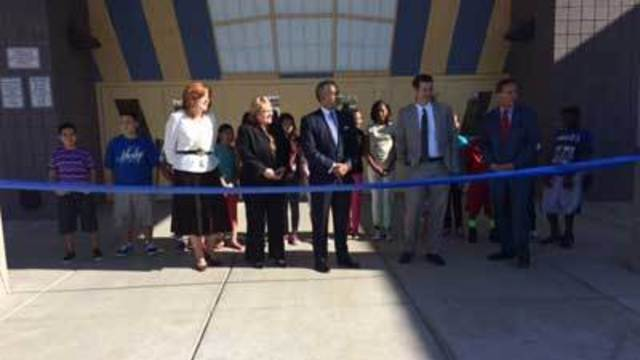 Middle school gets new life as turnaround school