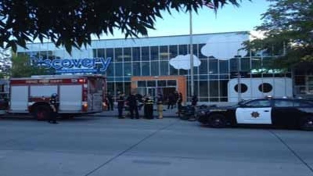 13 hurt, mostly kids, in chemical blast at Reno museum