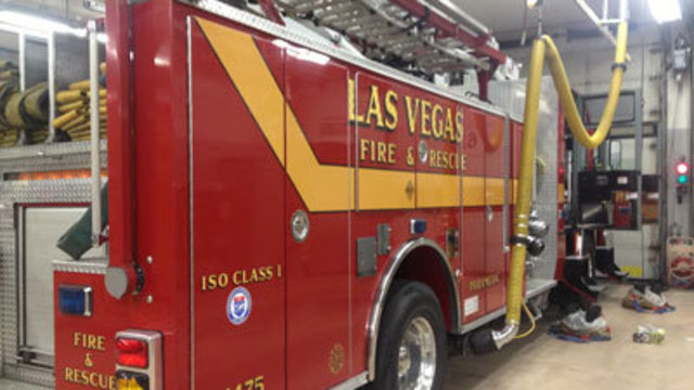 Fire Calls Increasing in Las Vegas