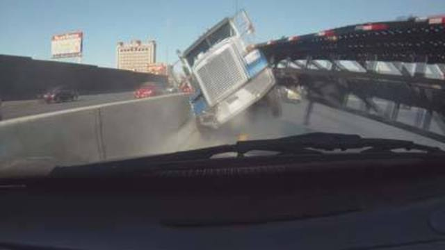 I-15 Accident Captured on Video