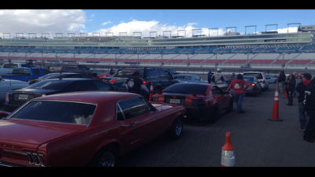 Laps For Charity at Las Vegas Speedway