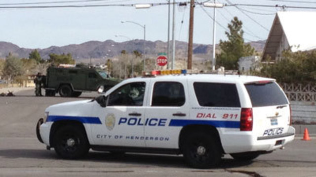 Henderson Police Arrest Woman after Standoff