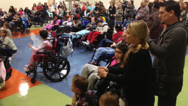 School Opens for Students With Disabilities