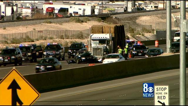 One Dead in I-15 Crash