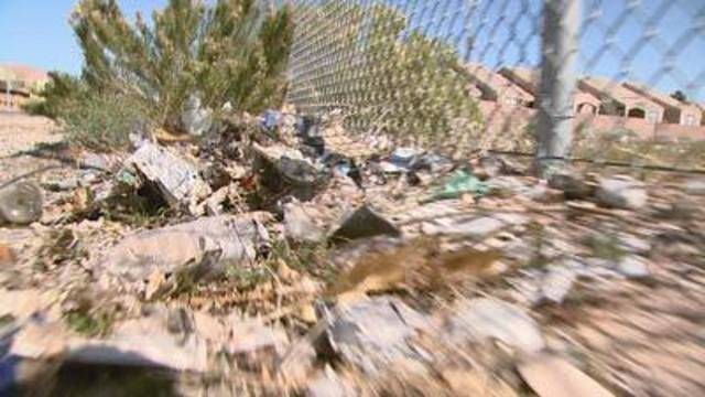 Trash-Filled Lot an Eyesore to Nearby Residents