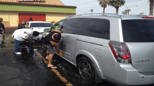 Car Wash Held for Censere Mosly-Wedermyer