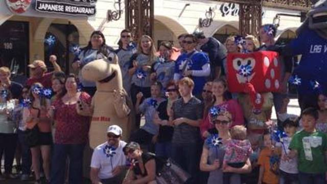 Pinwheel Event Raises Awareness for Victims of Child Abuse