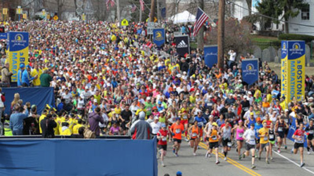 Local Runners Show Support for Boston Marathon Victims