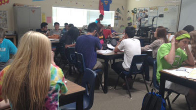 Sophomores Struggle With State's Math Test