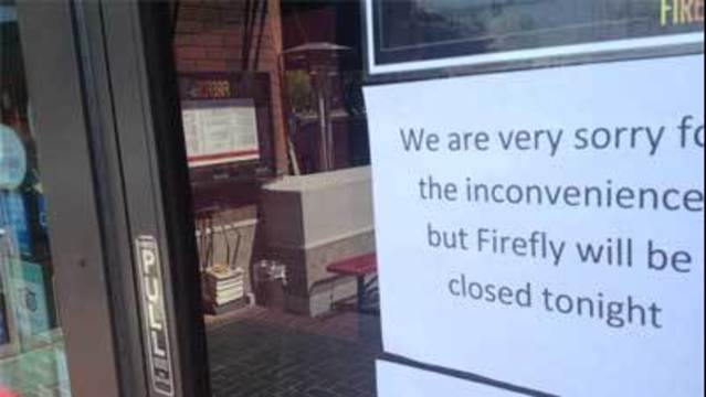 Report Details Conditions Inside Closed Restaurant
