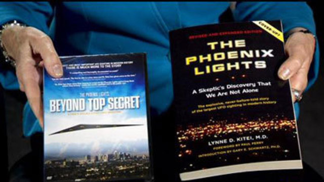 I-Team: Researcher to Discuss 'Phoenix Lights' Saturday