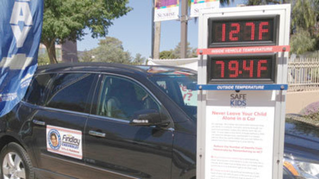 Hot, Parked Cars Deadly For Children
