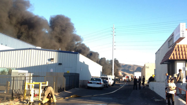 Several Cars Burned in Junkyard Fire