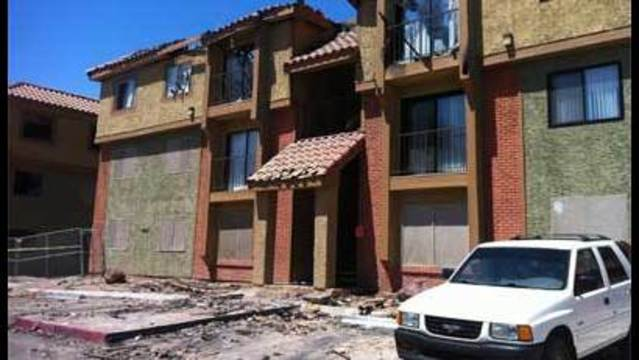 Father's Day Fire at Encantada Apartments Displaces 91