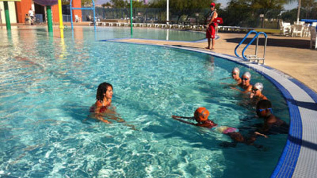 Children Participate in 'World's Largest Swimming Lesson'