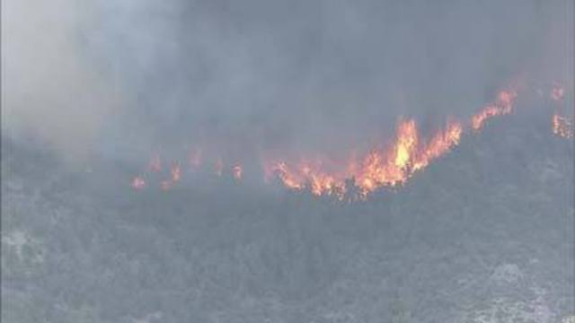 Officials Warn of Fire Dangers on Mount Charleston