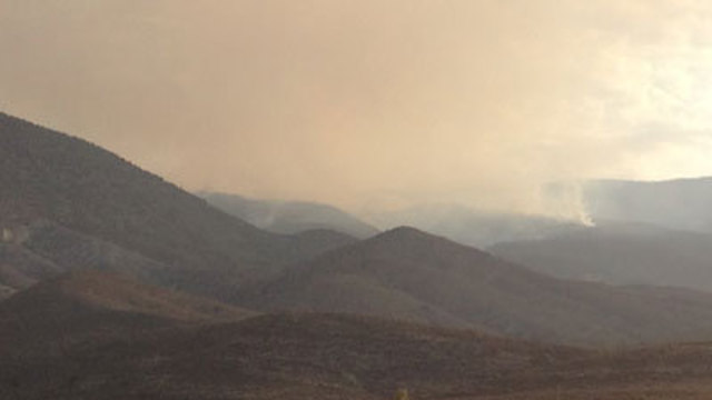 Carpenter Fire Could Continue Rest of Week