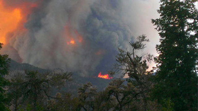 Carpenter Fire Grows; More People Forced to Evacuate