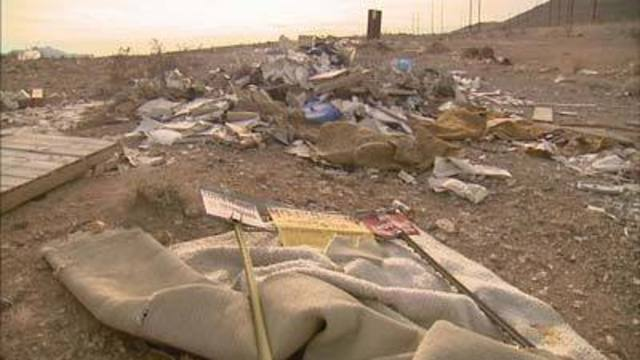 Driving You Crazy: Garbage Along Nevada Highways