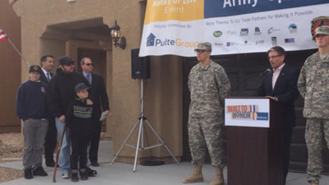 Wounded Soldier Gets Fresh Start, Free New Home