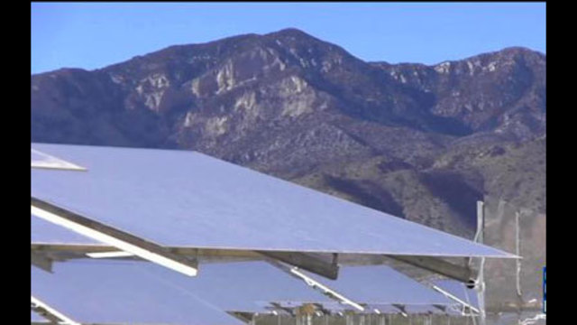 World's Largest Solar Power Plant Opens