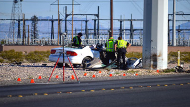 17-year-old critically hurt in NLV crash