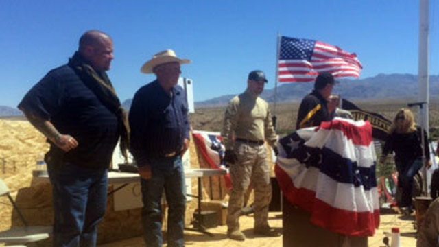 Armed guards surround Bundy, supporters fear imminent threat