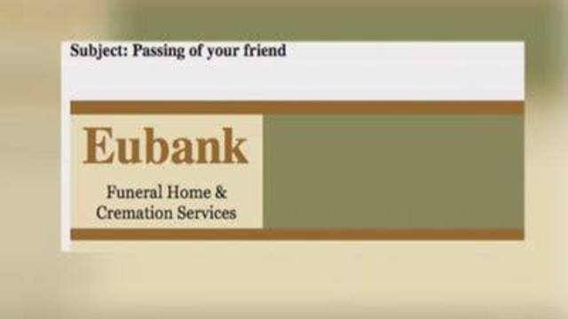 8 on Your Side warns about funeral home e-mail scam