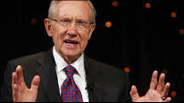 Sen. Reid says he's received mail threats at home