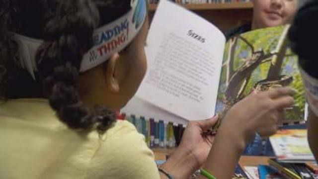 Report shows kids' reading habits are lacking