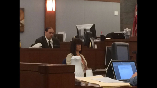 Key witness takes stand in Las Vegas dancer slaying case