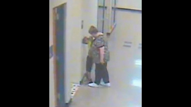 Teacher caught on camera allegedly grabbing boy, 6, by face