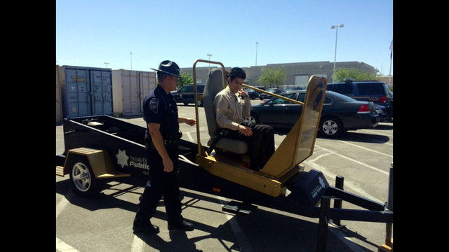 NHP looking for people who do not buckle up