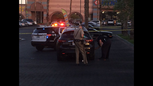 Police investigating shooting near Decatur and Tropicana