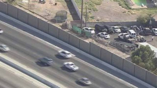 Driving You Crazy: Short sound wall at U.S. 95 and Flamingo