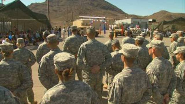 City of Las Vegas hosts job fair for military veterans