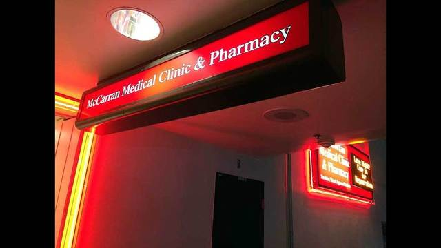 New clinic and pharmacy opening at McCarran Airport
