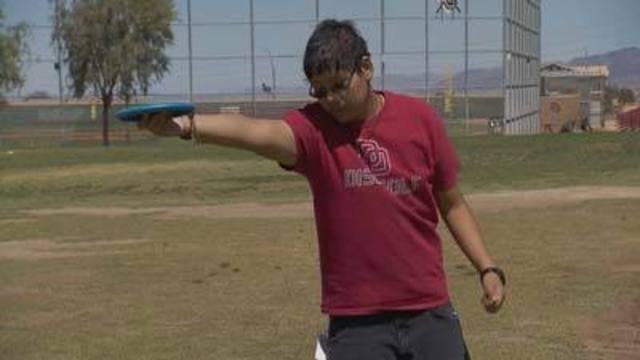 Cool at School: Desert Oasis students embrace disc golf