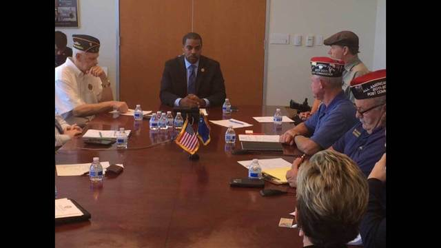 Congressman meets with local vets about VA problems
