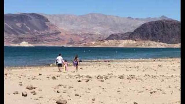 Lake Mead water nearing a low point