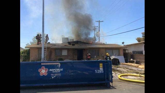 Two people transported from house fire