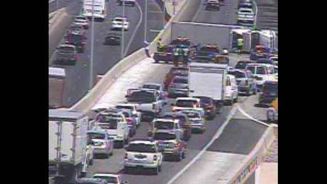 Crash cleared from southern beltway and I-15 interchange